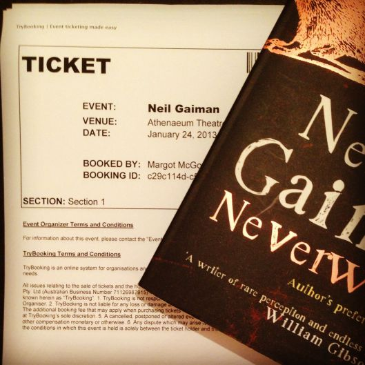 Spent an evening with the awesomely talented Neil Gaiman, like whatevs, no biggie.