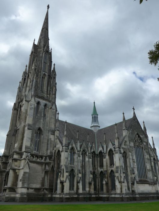 Dunedin kicks Radelaide's but as the City of Churches