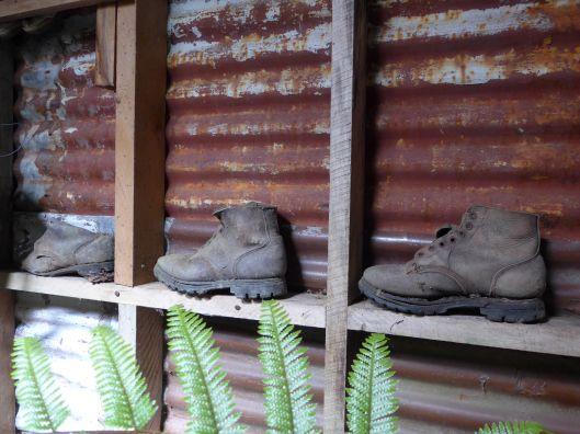 Abandoned hut finds